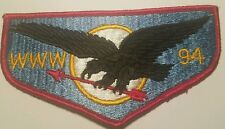 WWW 94 Black Hawk Lodge OA flap solid no FDL