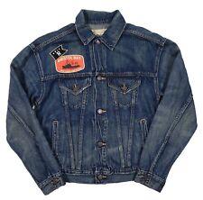 Polo Ralph Lauren Women's Blue Patch Detail Button Down Denim Jacket X - LARGE