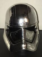 Disney Theme Parks Silver Chrome Star Wars Storm Trooper Captain Phasma Mug