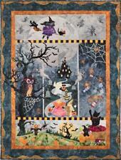 Once in a Boo Moon Halloween McKenna Ryan Pine Needles Quilt 5 Pattern Set