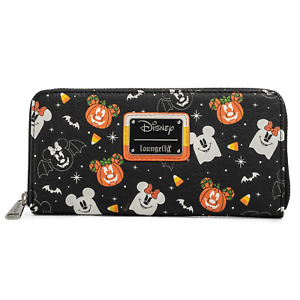 Spooky Mice Candy Corn Wallet Mickey Mouse Disney Loungefly Purse
