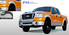 BLACK PAINTABLE Pocket Rivet Fender Flares 1997-2003 Ford F-150 ; Styleside ONLY