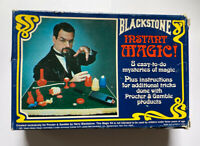 RARE BLACKSTONE INSTANT MAGIC! (1981) NOS - BRAND NEW IN BOX / Vintage Magic Set