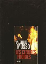 Les cendres froides de Musso, Valentin | Livre | état bon