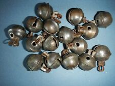 """New Listing16 1"""" silver coated brass sleigh bells"""