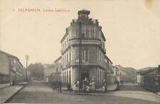 Tarjeta Postal. 3. Villagarcía. Central telefónica.