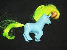 Vtg My Little Pony Beddy Bye Eyes Baby Ribbon Unicorn 1986