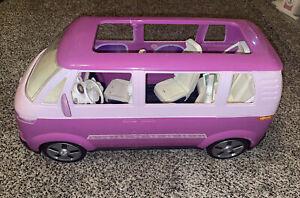 BARBIE Volkswagen VW Bus / Mini Van by Mattel 2002 - Sliding Door
