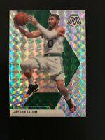 2019-20 Mosaic Jayson Tatum Silver Mosiac Prizm #79 Boston Celtics