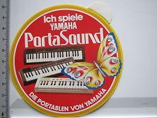 Aufkleber Sticker Yamaha - Keyboards - Portasound - Die Portablen (6531)