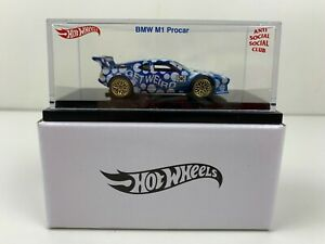 Hot Wheels Anti Social Social Club Exclusive ASSC BMW M1 Car Brand New