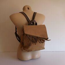 Sac à dos bandoulière femme marron MICK GWEND UPCYCLING design N3708