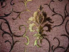 Tissu D'ameublement Baroque Antique Neuf Jaquard Chenille Webstoff Rose