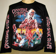 Cannibal Corpse Eaten Back To Life Long Sleeve T-Shirt Size S M L XL 2XL 3XL New
