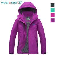 Waterproof Parka Women's Outdoor Mountain Jackets Hooded Sportswear Raincoats