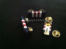 MILITARY MEDAL RIBBON BAR (PIN ON)