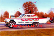 Ramchargers 65 AWB Dodge FX  Drag Racing Art print by David Carl Peters