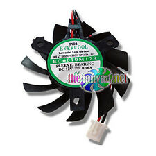 Evercool 60mm Drop In VGA Card Replacement Fan 3 screw VC-EC6010M12S