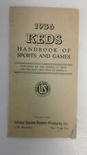 Retro Boys Girls Club 1936 Keds Handbook Sports Games Vintage recreation youth
