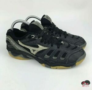 Mizuno Wave Rally Black Volleyball Shoes 9KV-18705 Women's Size 10.5 Wide