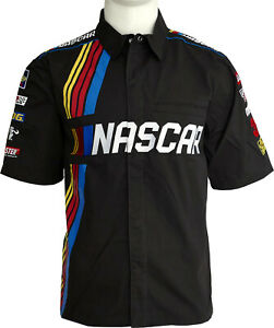 NASCAR pit crew shirt, licensed, embroidery, limited edition 200 pieces, generic