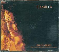 Camilla - Non C'E' Ragione (Paolo Martella) 2 Tracks Promo Cd Ottimo