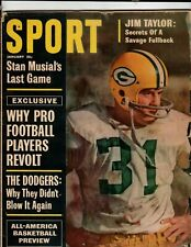 Vintage January 1964 Sport Magazine