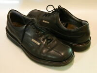 MEPHISTO Mens Abel Goodyear Welt Air Relax Shoes Oxford Leather Black Sz 8.5 EUC