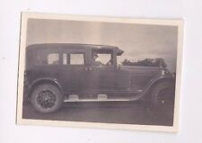 VINTAGE PHOTO GLAMOUR WOMAN CLOCHE HAT VINTAGE CAR 1920s FASHION FB31