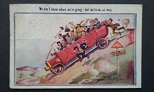 Bamforth Touring & Art Comic Postcards # 6013 Postcard Postmarked 1930 Standard