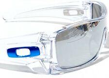 NEW* Oakley BATWOLF CLEAR w POLARIZED Galaxy MIRROR 2 lens set Sunglass 9101