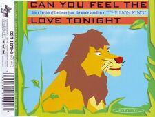 HARAJUKU  Can You Feel The Love Tonight  4tr cds 1994 DST Elton John
