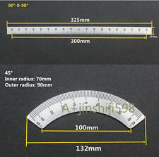 Set 2pcs Bridgeport Mill Milling Machine Part 45 90 Degree Angle Plate Parts