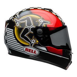 BELL Street SRT 2021 Full Face Lightweight Fiberglass Motorcycle Touring Helmet