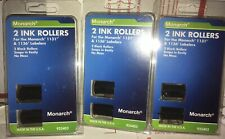 ✒� 6 Monarch 925403 Replacement Ink Rollers, Black, 3x 2/Pack (Mnk925403) L👀k