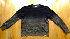 Denim & Supply Ralph Lauren CAMO Black Cotton Sweatshirt - Men's Size Medium