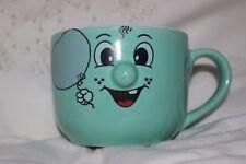 Mug Cup Tasse  Green Smiley Face with Ballon