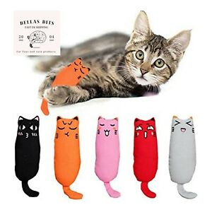 Catnip Pet Cat Toy Gift Chew Crazy Grinding Play Toys Teeth Scratch uk seller