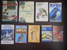 Seabirds of the World 9 book lot Bird Guides Owls A Birds Around The World