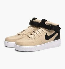 c5c7bb091557 Wmns Air Force 1 ´07 Mid Leather Premium UK 5 Trainers Woman s Beige Grey  Black
