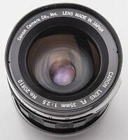 Canon Lens FL 35mm 35 mm 1:2.5 2.5