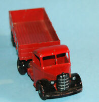 DINKY SUPERTOYS Meccano England original 1948 BEDFORD ARTICULATED LORRY #521 RED