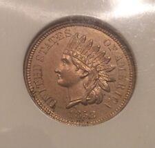 1858 Indian Head Cent J-208 Judd Pattern Type **Scarce** #10402