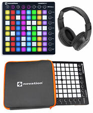 Novation LAUNCHPAD S MK2 MKII USB MIDI Controller Pad+Sleeve+Headphones !