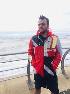 kitesurf jacket windproof sailing kiteboarding lightweight festival upcycled