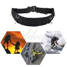 Adjustable Photograph Camera Waist Belt Sling Hang Strap Holder Lens Bag Black