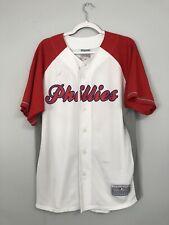 Shane Victorino Philadelphia Phillies Majestic Replica Jersey Size Men's L/XL