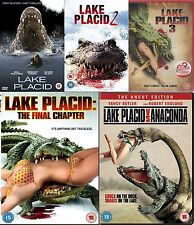 LAKE PLACID Pentalogy Complete Collection Part 1 2 3 4 5 All Movie NEW R2 UK DVD