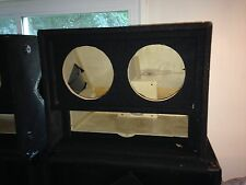 """speaker cabinet for two 8"""" speakers and 20"""" horn"""