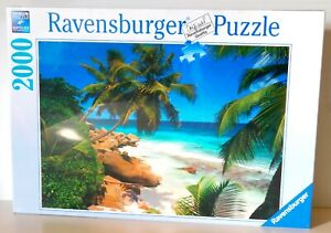 **NEW** ~ RAVENSBURGER SEYCHELLES ISLAND 2000 PIECE JIGSAW PUZZLE ~ **SEALED**